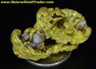 18.11 Gram California Gold & Quartz Specimen