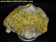34.3 Gram Oregon Gold & Quartz Specimen