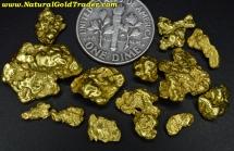 15.10 Grams (12) Alaska Gold Nuggets