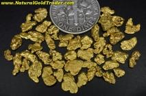 6.52 Grams (45) Yukon Canada Gold Nuggets