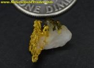 0.72 Gram Australia Gold & Quartz
