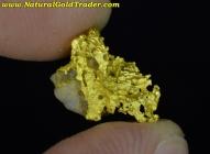 1.39 Gram Australia Gold & Quartz Specimen