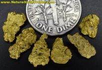 4.61 Grams (6) Northern Nevada Gold Nuggets