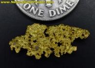 1.04 Gram California Crystalline Gold Nugget