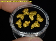 4.94 Grams (7) California Gold Nuggets
