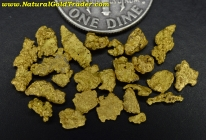 2.89 Grams of Nevada Gold Nuggets