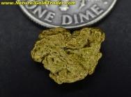 1.63 Gram Oregon Placer Gold Nugget