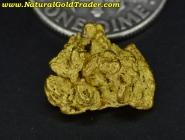 2.76 Gram Rye-Patch Nevada Gold Nugget