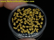 2.70 Grams of Canada Placer Gold Nuggets
