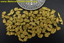 2.76 Grams of Canada Placer Gold Nuggets