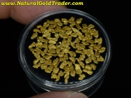 3.76 Grams of Canada Placer Gold Nuggets