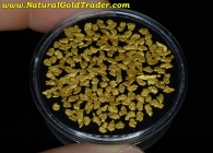 5.72 Grams of Canada Placer Gold Nuggets