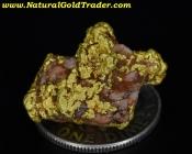 7.16 Gram Australia Gold & Quartz Specimen