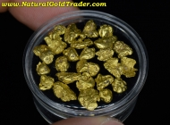 12.43 Grams (23) Alaska Placer Gold Nuggets