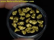 15.69 Grams (26) Alaska Placer Gold Nuggets