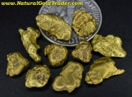 8.62 Grams (10) Alaska Placer Gold Nuggets