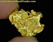 3.24 Gram Australia Placer Gold Nugget