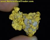 15.54 Gram Western Australia Gold & Quartz
