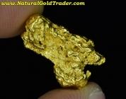 4.98 Gram Kalgoorlie Australia Gold Nugget