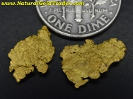 1.72 Grams (2) Northern Nevada Gold Nuggets
