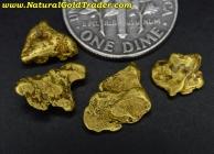 3.38 Grams (4) Eagle Creek Alaska Nuggets