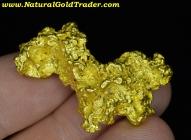 34.2 Gram Kalgoorlie Australia Gold Nugget