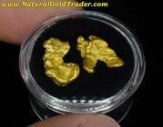 4.77 Grams (2) Western Australia Gold Nuggets