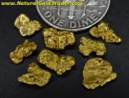 2.81 Grams (8) Eastern Oregon Gold Nuggets