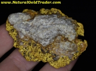106.7 Gram Meadview Arizona Gold & Quartz