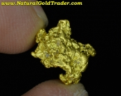 1.93 Gram Baker Oregon Placer Gold Nugget