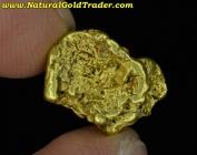 3.14 Gram Alaska Placer Gold Nugget
