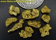 4.31 Grams (9) Alaska Placer Gold Nuggets