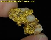 4.52 Gram Mariposa California Gold & Quartz