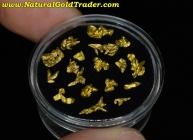 4.17 Grams of Zapata Venezuela Gold Crystals