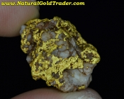 11.22 Gram Kalgoorlie Australia Gold & Quartz