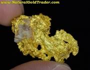 7.31 Gram Australia Crystalline Gold Nugget