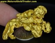 28.5 Gram Kalgoorlie Australia Gold Nugget
