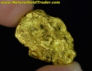 7.96 Gram B.C Canada Placer Gold Nugget