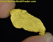 1.93 Gram Nevada Placer Gold Nugget