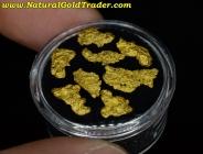 3.68 Grams (8) Nevada Gold Nuggets