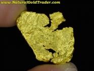 2.84 Gram Kalgoorlie Australia Gold Nugget