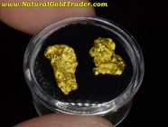 5.70 Grams (2) Western Australia Gold Nuggets