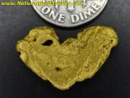 5.39 Gram Kalgoorlie Australia Gold Nugget