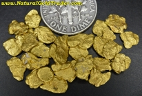7.62 Grams of #6 Mesh S. Oregon Placer Gold