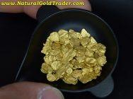 7.78 Grams of #8 Mesh S. Oregon Gold Nuggets