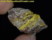 10.82 Gram Australia Gold & Quartz Specimen