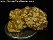 11.77 Gram Australia Gold & Hematite