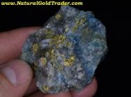84.0 Gram Utah Gold & Blue Azurite Specimen!
