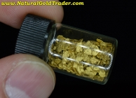 7.00 Grams of #14 Mesh Canada Placer Gold
