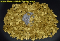 1 ozt. 31.1 Grams of #12 Mesh AZ. Placer Gold